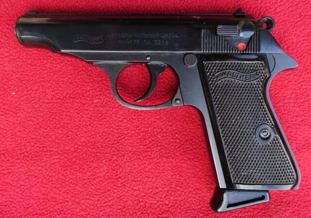 foto Pistole Walther PP – Ulm, ráže .22LR – REZERVOVÁNO