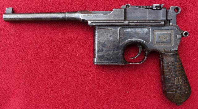 foto Pistole Mauser C96/1930