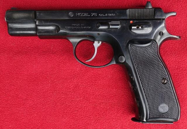 foto Pistole ČZ 75