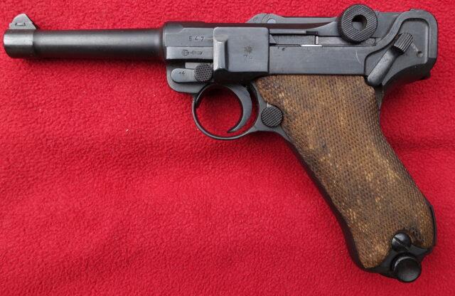 foto Pistole Mauser P08 – REZERVOVÁNO