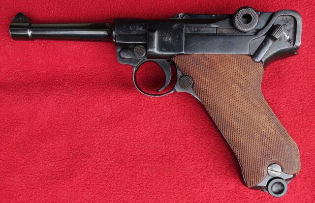 foto Pistole Mauser P08