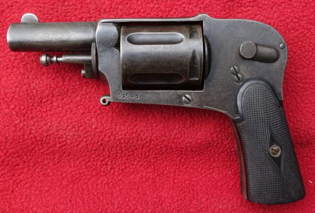 foto Revolver Francotte Liege – REZERVOVÁNO