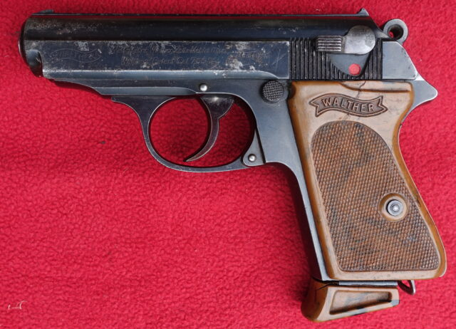 foto Pistole Walther PPK Zella Mehlis