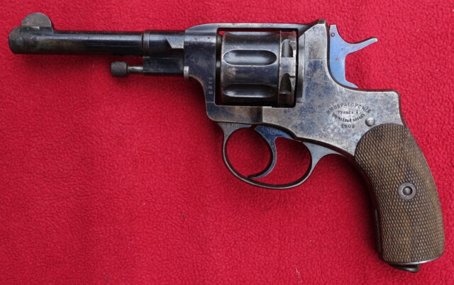 foto Revolver Tula Nagant 1895 – důstojnický – REZERVOVÁNO